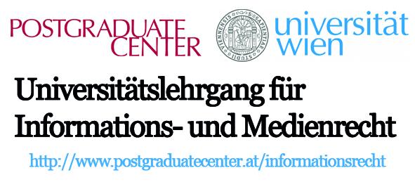 Universitätslehrgang Informations- und Medienrecht